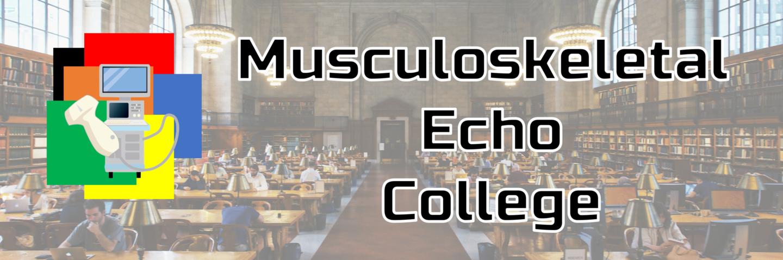 運動器エコーカレッジ(Muscloskeletal-Echo-College)